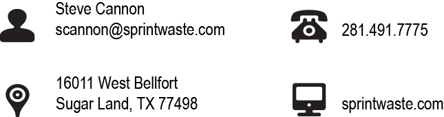 Sprint Waste_Contact